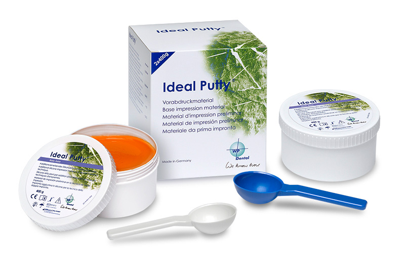 Ideal Putty® A-Silicone-based for pre-impressions